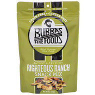 3 PACK OF Bubbas Fine Foods, Snack Mix, Righteous Ranch, 4 oz (113 g)