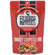 3 PACK OF Bubbas Fine Foods, Snack Mix, Smokey Chipotle BBQ, 4 oz (113 g)