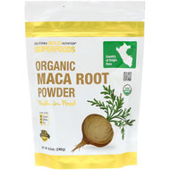 3 PACK OF California Gold Nutrition, Superfoods, Organic Maca Root Powder, 8.5 oz (240 g)