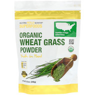 3 PACK OF California Gold Nutrition, Superfoods, Organic Wheat Grass Powder, 8.5 oz (240 g)