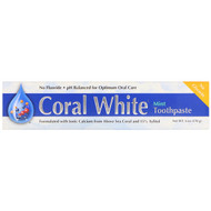 3 PACK OF CORAL , Coral White Toothpaste, Mint, 6 oz (170 g)