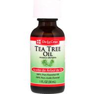 De La Cruz, Tea Tree Oil, 100% Pure Essential Oil, 1 fl oz (30 ml)