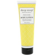 3 PACK OF Deep Steep, Body Lotion, Lemon Cream, 8 fl oz (237 ml)
