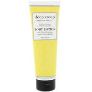 Deep Steep Body Lotion Lemon Cream -- 6 fl oz