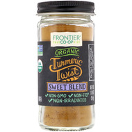 3 PACK OF Frontier Natural Products, Organic Turmeric Twist, Sweet Blend, 1.80 oz (51 g)