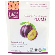 3 PACK OF Fruit Bliss, Organic French Agen Plums, 5 oz (142 g)