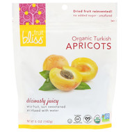 3 PACK of Fruit Bliss, Organic, Dried & Pitted Apricots, 5 oz (142 g)