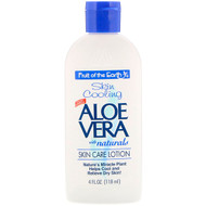 3 PACK OF Fruit of the Earth, Skin Cooling, Aloe Vera with Naturals, Skin Care Lotion, 4 fl oz (118 ml)