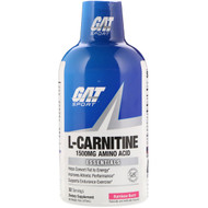 3 PACK OF GAT, L-Carnitine, Amino Acid, Rainbow Burst, 1500 mg, 16 oz (473 ml)