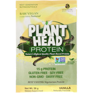 3 PACK OF Genceutic Naturals, Plant Head Protein, Vanilla, 26 g