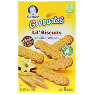 3 PACK OF Gerber, Lil Biscuits, Toddler, 12+ Months, 4.44 oz (126 g)