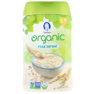 3 PACK OF Gerber, Organic, Rice Cereal, Supported Sitter, 8 oz (227 g)