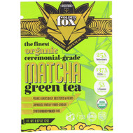 3 PACK OF Green Foods Corporation, Folded Fox, Organic Matcha Green Tea, 0.07 oz (2 g)