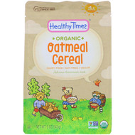 3 PACK OF Healthy Times, Organic, Oatmeal Cereal, 4+ Months, 5 oz (142 g)