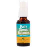 3 PACK OF Herb Pharm, Herbs on the Go, Daily Stress Balance, 1 fl oz (30 ml)