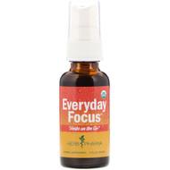 3 PACK OF Herb Pharm, Herbs on the Go, Everyday Focus, 1 fl oz (30 ml)