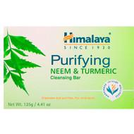 3 PACK OF Himalaya, Purifying Cleansing Bar, Neem & Turmeric, 4.41 oz (125 g)
