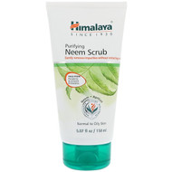 3 PACK OF Himalaya, Purifying Neem Scrub, Normal to Oily Skin, 5.07 fl oz (150 ml)