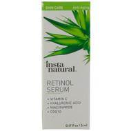 InstaNatural, Retinol Serum, Anti-Aging, 0.17 fl oz (5 ml)