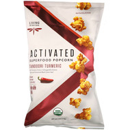 3 PACK OF Living Intentions, Activated, Superfood Popcorn, Tandoori Turmeric, 4 oz (113 g)