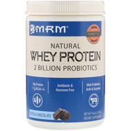 3 PACK of MRM, Natural Whey Protein, Dutch Chocolate, 4.6 oz (130 g)