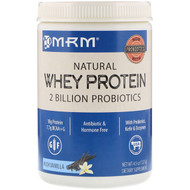 3 PACK of MRM, Natural Whey Protein, Rich Vanilla, 4.5 oz (127 g)