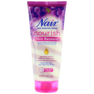 3 PACK OF Nair , Hair Remover Cream, Nourish, Skin Renewal, For Legs & Body, 7.9 oz (224 g)