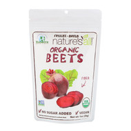 3 PACK OF Natierra, Organic Freeze-Dried, Beets, 1 oz (28 g)