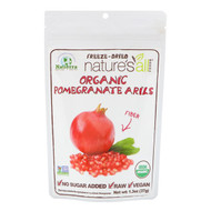 3 PACK OF Natierra, Organic Freeze-Dried, Pomegranate Arils, 1.3 oz (37 g)