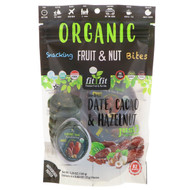 Natures Wild Organic, Organic, Snacking Fruit & Nut Bites, Sun-Dried Date, Cacao & Hazelnut, 6 Pack, 0.88 oz (25 g) Each