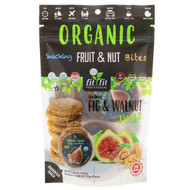 3 PACK OF Natures Wild Organic, Organic, Snacking Fruit & Nut Bites, Sun-Dried Fig & Walnut, 6 Pack, 0.88 oz (25 g) Each