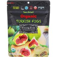 3 PACK OF Natures Wild Organic, Wild & Raw, Sun-Dried, Organic Turkish Figs, 6 oz (170 g)