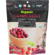 3 PACK OF Natures Wild Organic, Wild & Real, Dried, Organic Cranberries, 3.5 oz (100 g)