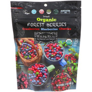 3 PACK OF Natures Wild Organic, Wild & Real, Dried, Organic Forest Berries, 3.5 oz (100 g)