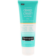 3 PACK OF Neutrogena, Deep Clean, Purifying, Clay Cleanser/Mask, 4.2 oz (119 g)