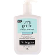 3 PACK OF Neutrogena, Ultra Gentle, Daily Cleanser, Foaming Formula, 12 fl oz (354 ml)