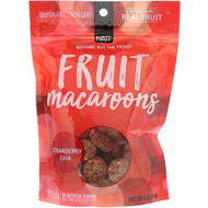 3 PACK OF Nothing But The Fruit, Fruit Macaroons, Strawberry Chia, 4 oz (113 g)