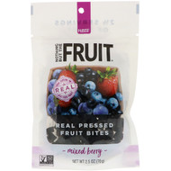 Nothing But The Fruit, Real Pressed Fruit Bites, Mixed Berry, 2.5 oz (70 g)
