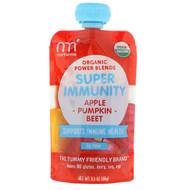 3 PACK OF NurturMe, Organic Power Blends, Super Immunity, Apple, Pumpkin, Beet, 3.5 oz (99 g)