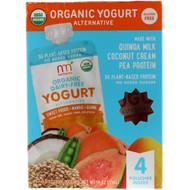 3 PACK OF NurturMe, Organic Yogurt Alternative, Sweet Potato, Mango, Guava, 4 Pouches, 3.5 oz (99 g) Each