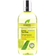 3 PACK OF Organic Doctor, Organic Tea Tree Shampoo, 9 fl oz (265 ml)