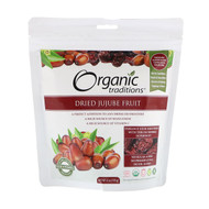 3 PACK OF Organic Traditions, Dried Jujube Fruit, 6 oz (170 g)