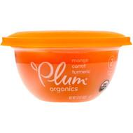 3 PACK OF Plum Organics, Baby Bowl, Stage 2, Mango, Carrot, Turmeric, 3.6 oz (102 g)