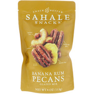 3 PACK OF Sahale Snacks, Glazed Mix, Banana Rum Pecans, 4 oz (113 g)