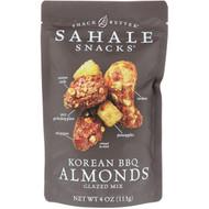 Sahale Snacks, Glazed Mix, Korean BBQ Almonds, 4 oz (113 g)