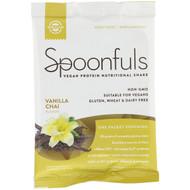 3 PACK OF Solgar, Spoonfuls, Vegan Protein Nutritional Shake, Vanilla Chai, 1.4 oz (41 g)