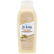 3 PACK OF St. Ives, Soothing Body Wash, Oatmeal & Shea Butter, 24 fl oz (709 ml)