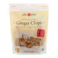 3 PACK OF The Ginger People, Crystallized Ginger Chips, 7 oz (198 g)