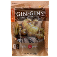 3 PACK OF The Ginger People, Gin Gins, Chewy Ginger Candy, Hot Coffee, 3 oz (84 g)