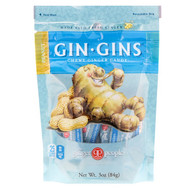 3 PACK of Ginger People Gin Gins Chewy Ginger Candy Peanut -- 3 oz